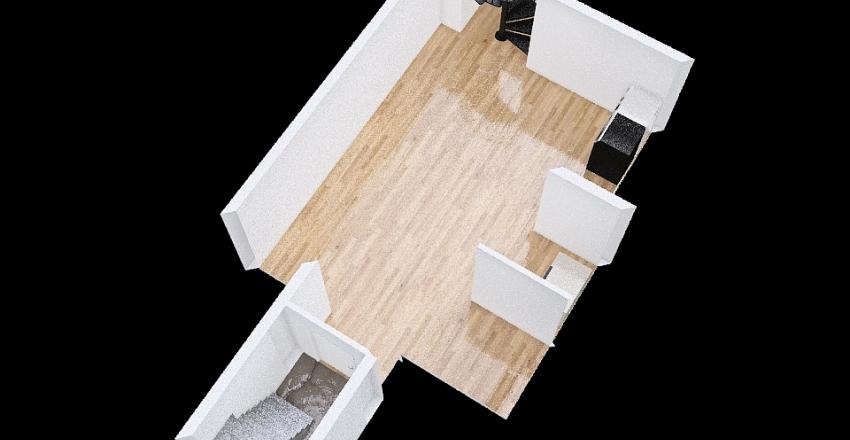 House CPT: Basement Interior Design Render