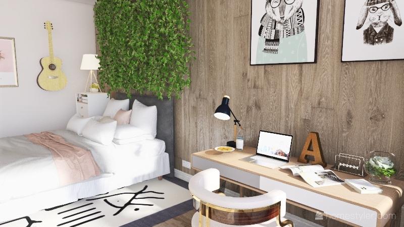 Math Dream Room Project Interior Design Render