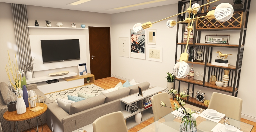 Ivan Claudionor de Almeida - UPK Interior Design Render