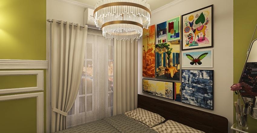 Avocado Dream Home (30 SQ M) Interior Design Render