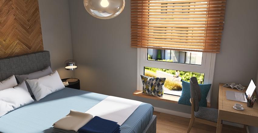 Havlove flat Interior Design Render