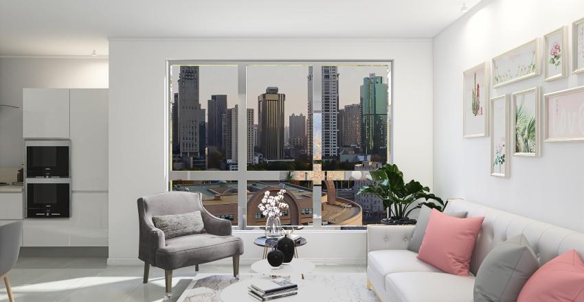 APARTAMENTO  ELEGANTE Interior Design Render