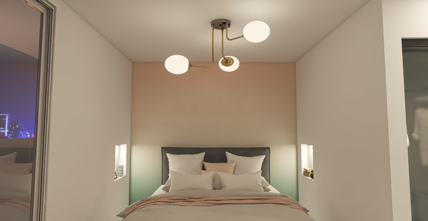 Big Apartment Interior Design Render