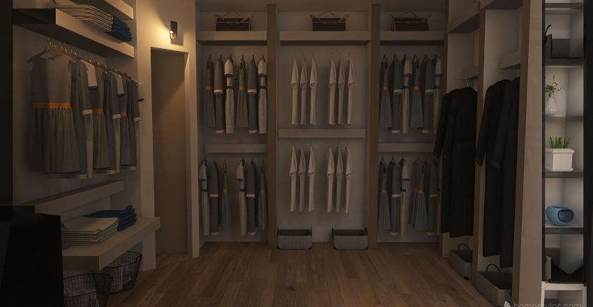 cabina Interior Design Render