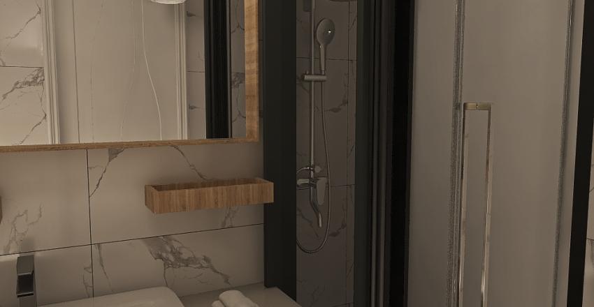 Little apartment in Tiraspol Interior Design Render