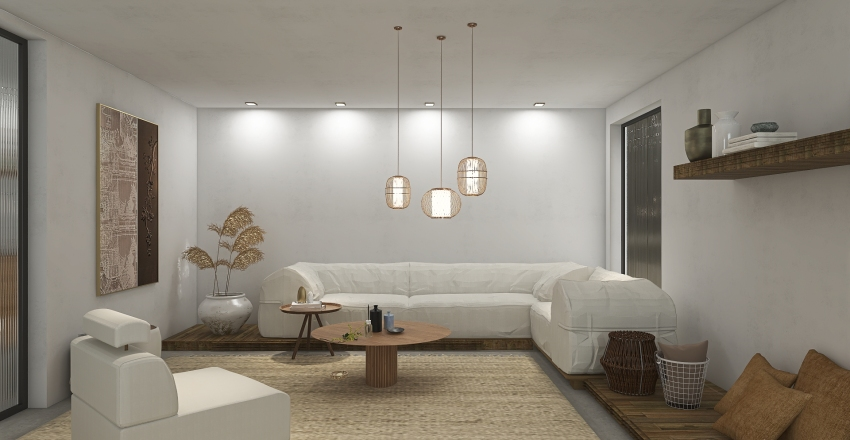 mini Interior Design Render