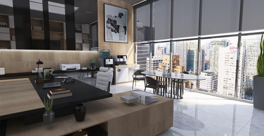 #HSDA2020Residencial.  Penthouse en el centro de la ciudad. Interior Design Render