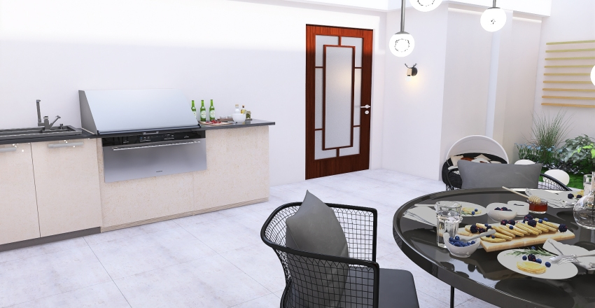 JARDIN/PATIO Interior Design Render