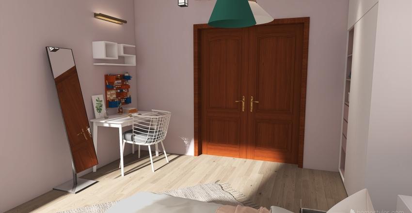room for girls Interior Design Render