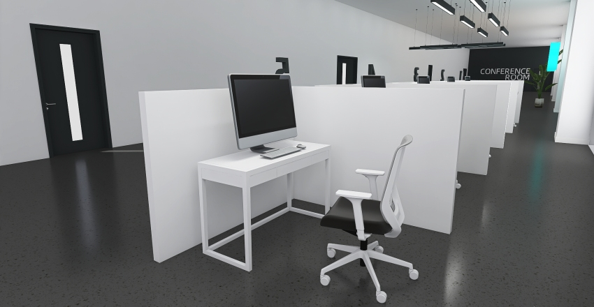 COSMOS Office 3 Interior Design Render