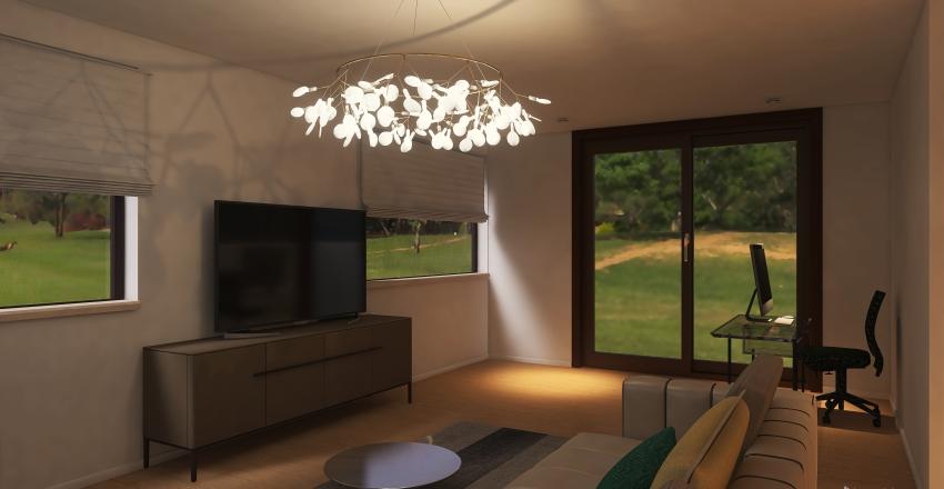 1t floor Interior Design Render