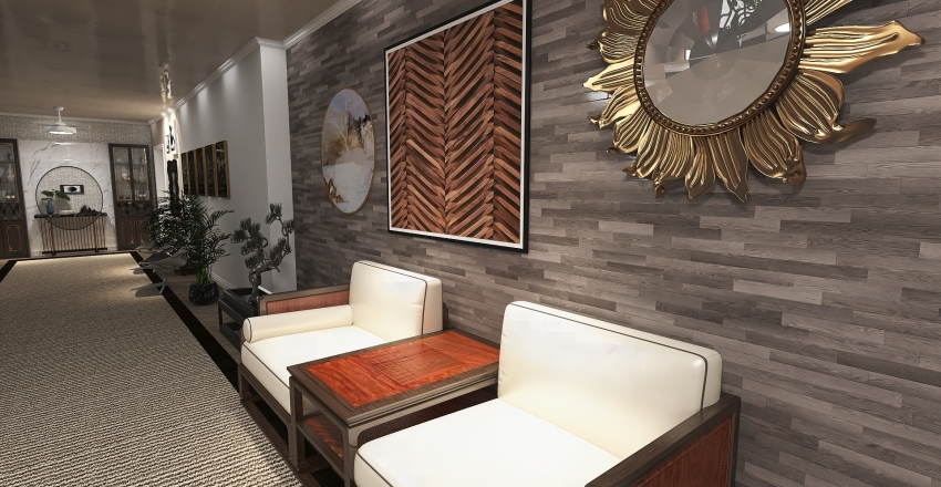 projeto casarao Interior Design Render