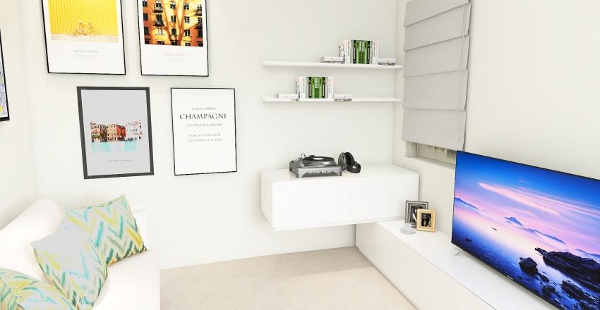 STANZA DELLA MUSICA Interior Design Render