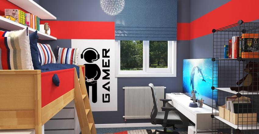 Bedrooms for David and Emma Interior Design Render