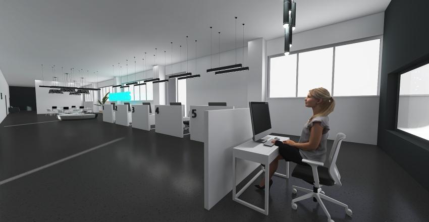 COSMOS Office 5 Interior Design Render