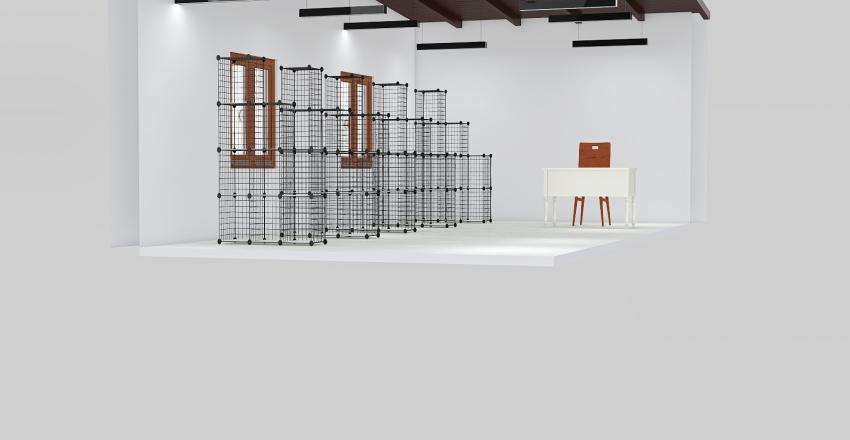 warehouse Interior Design Render