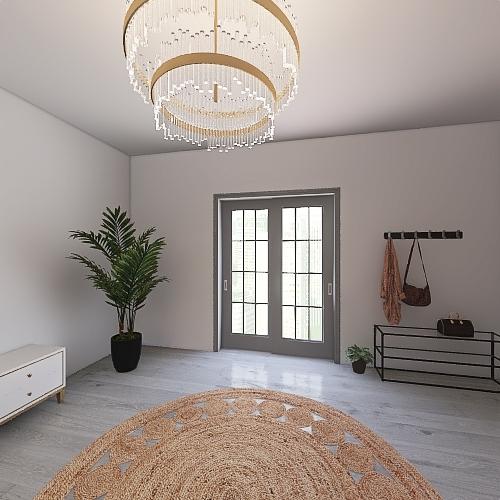 Boho House for 2 Interior Design Render