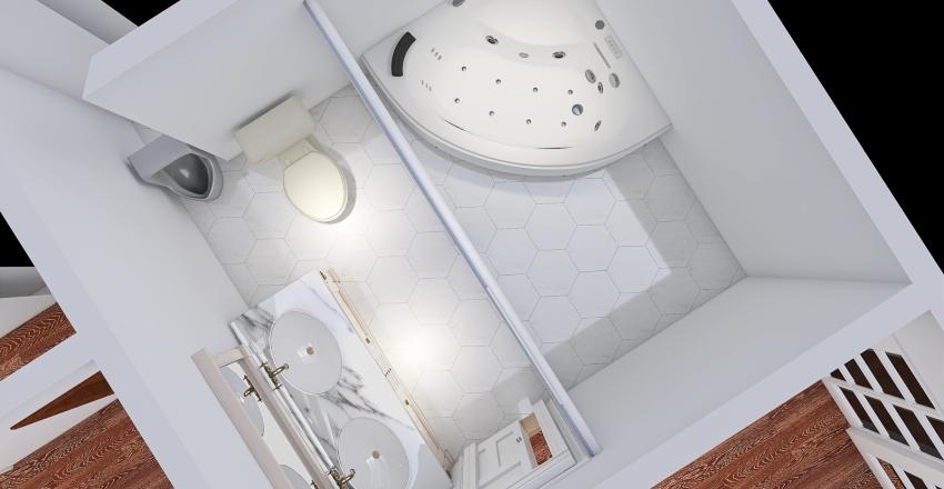 Master bathroom - Final Interior Design Render