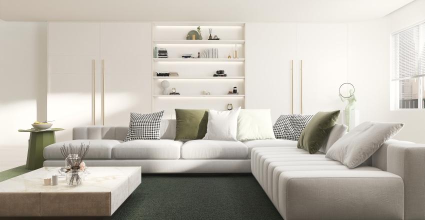 Duplex living Room Demo Interior Design Render