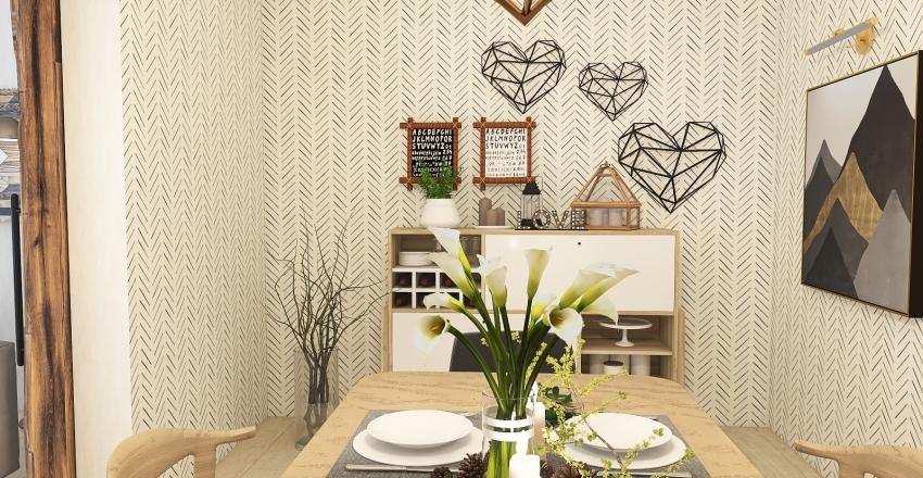 Kai's Scandi inspired home Interior Design Render