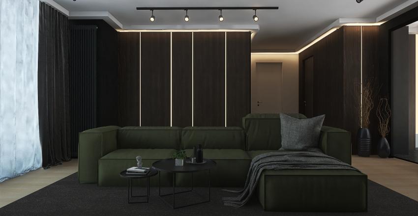 living room design Interior Design Render