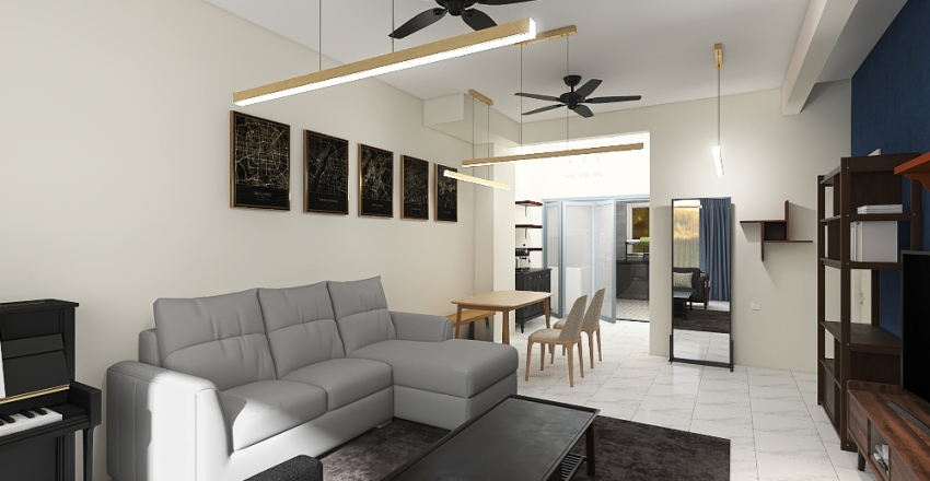 alista Interior Design Render