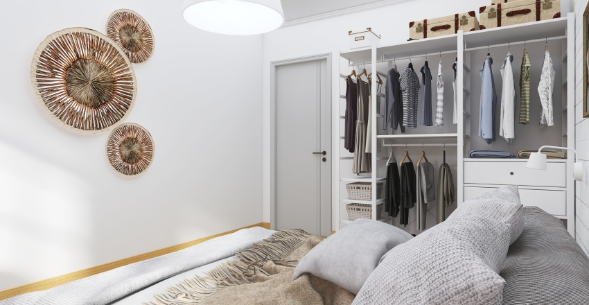 #HSDA2020Residential  #Scandinavian-style apartment 66m2 Interior Design Render