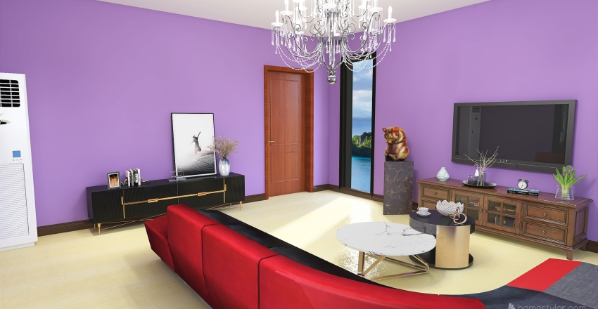 Modernplace Aquamarine view Interior Design Render