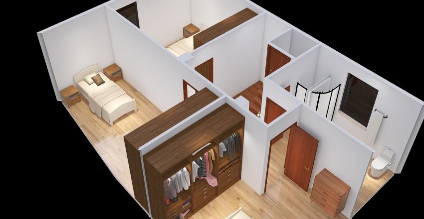 planta arriba final Interior Design Render