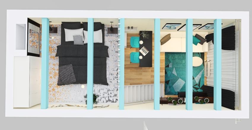 Blue 111 Interior Design Render