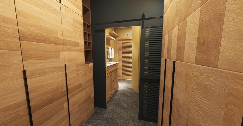 Wood interier Interior Design Render