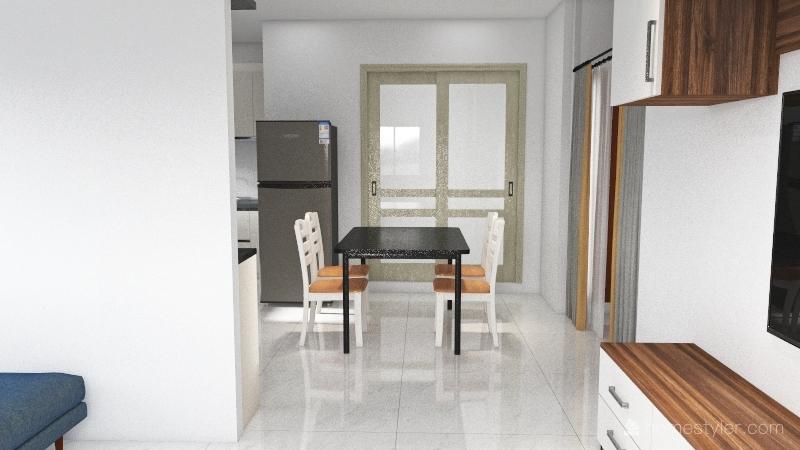 Plan2-south facing pooja Interior Design Render
