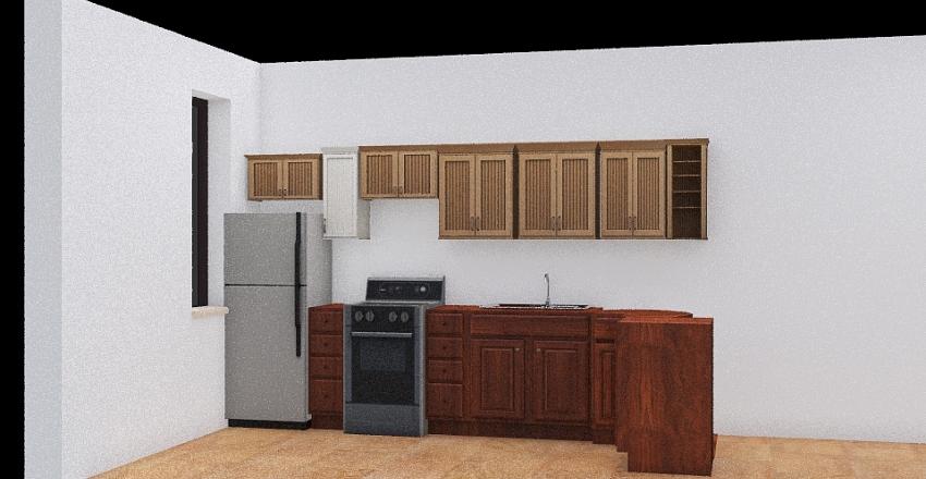 Carlos Carrion cocina Interior Design Render