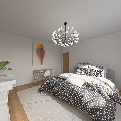 appartamento rustico Interior Design Render
