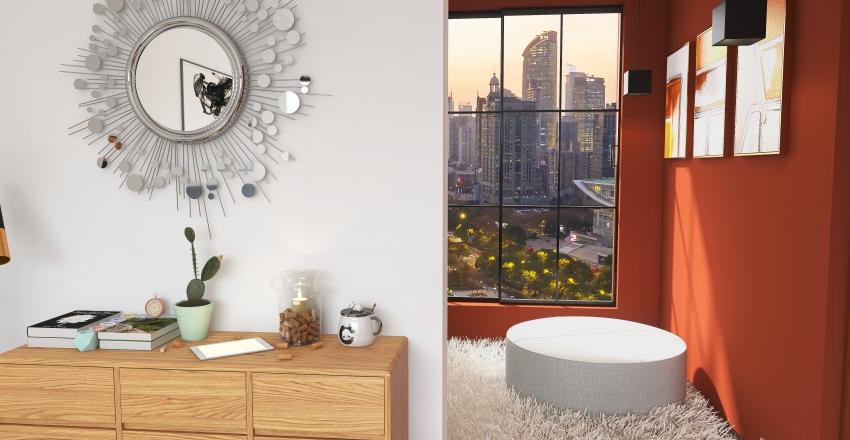 bedroom experience new version Interior Design Render