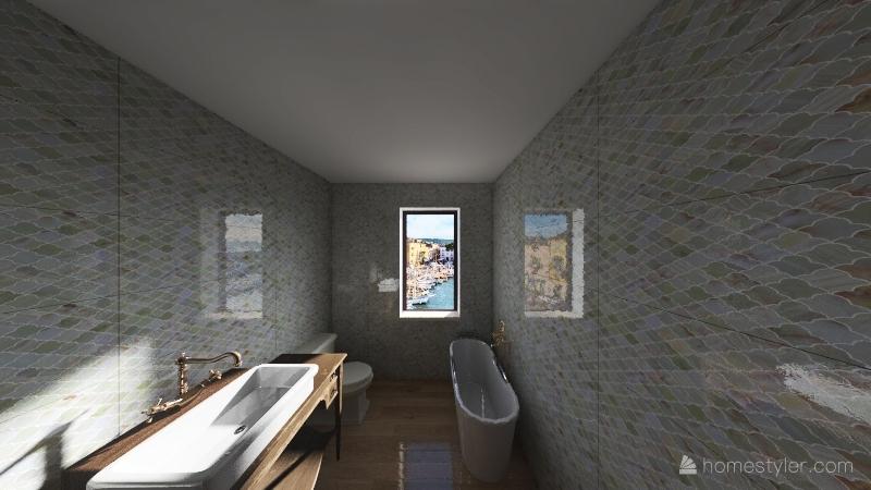 progetto 1 chiara mussat Interior Design Render
