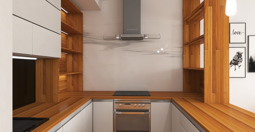 #HSDA2020Residential Typical Polish Lounge Interior Design Render