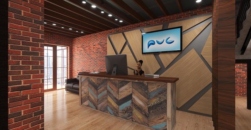 Offise Interior Design Render