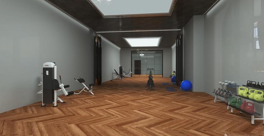 #HSDA2020Residential Great Marble House Interior Design Render