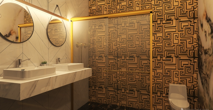 bathroom I Interior Design Render