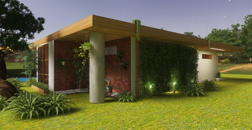 #HSDA2020Residential Terronero Country Interior Design Render