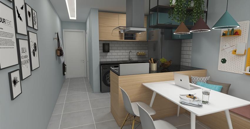 Carolina Sansão Interior Design Render