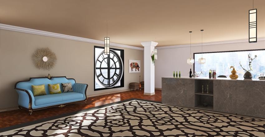 #HSDA2020Commercial Restaurant Interior Design Render