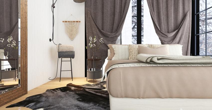 #HSDA2020Residential MODERN MOUNTAIN HOUSE Interior Design Render