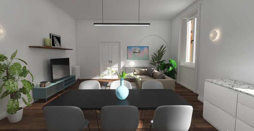 via de togni 7 Interior Design Render