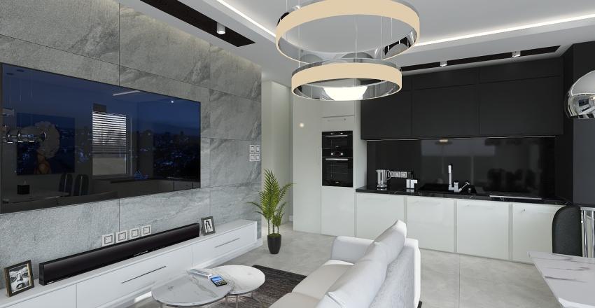 Projekt wedlug wymiarow Interior Design Render