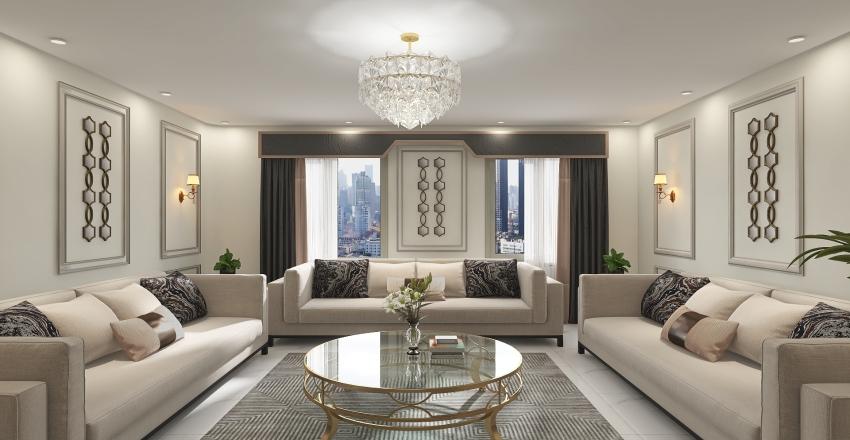 Alkathery Apartment Interior Design Render