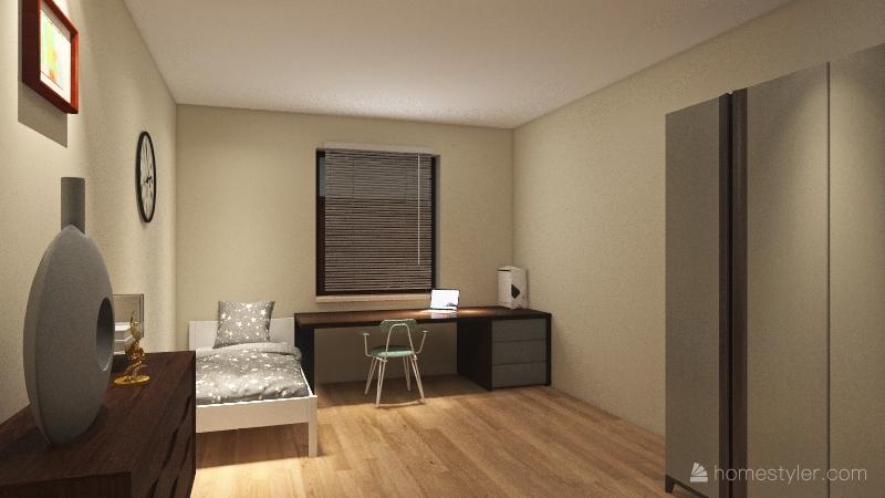 Casa de Daniela. Interior Design Render