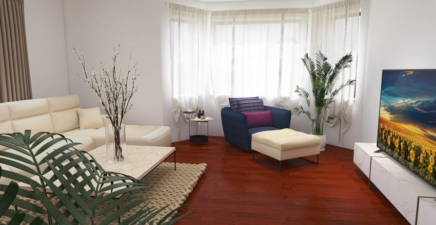 Cianowice - 1st floor Interior Design Render