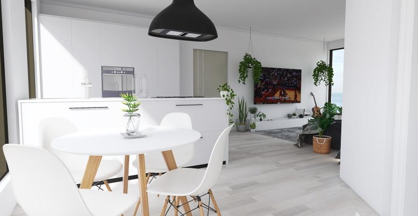 A Casa de praia Interior Design Render